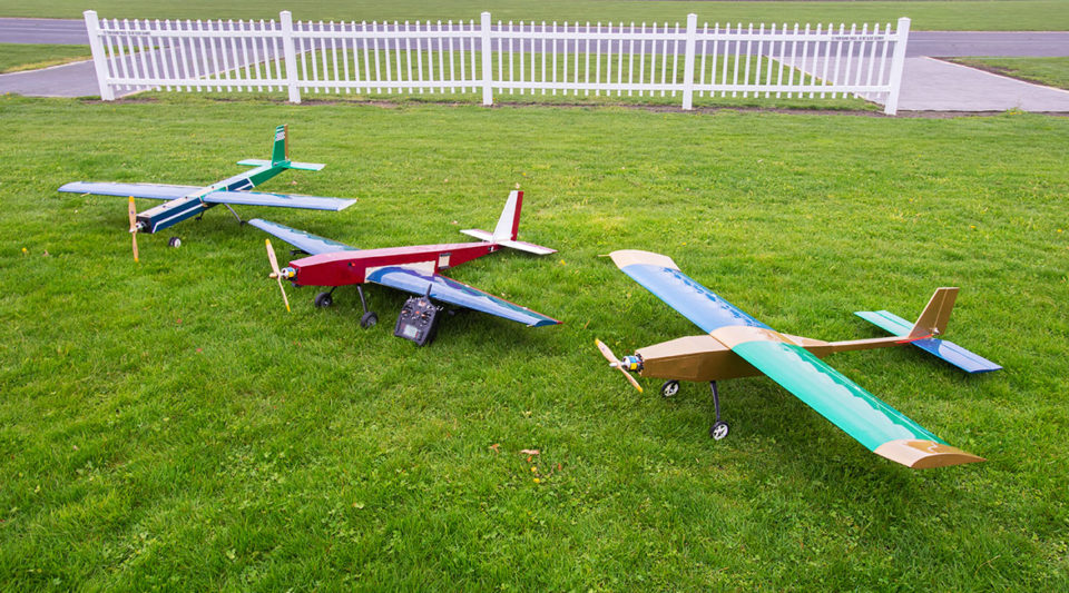 3 AME Senior Design RC Airplane builds