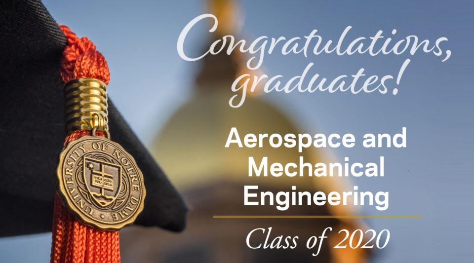 Congratulations AME 2020 Graduates