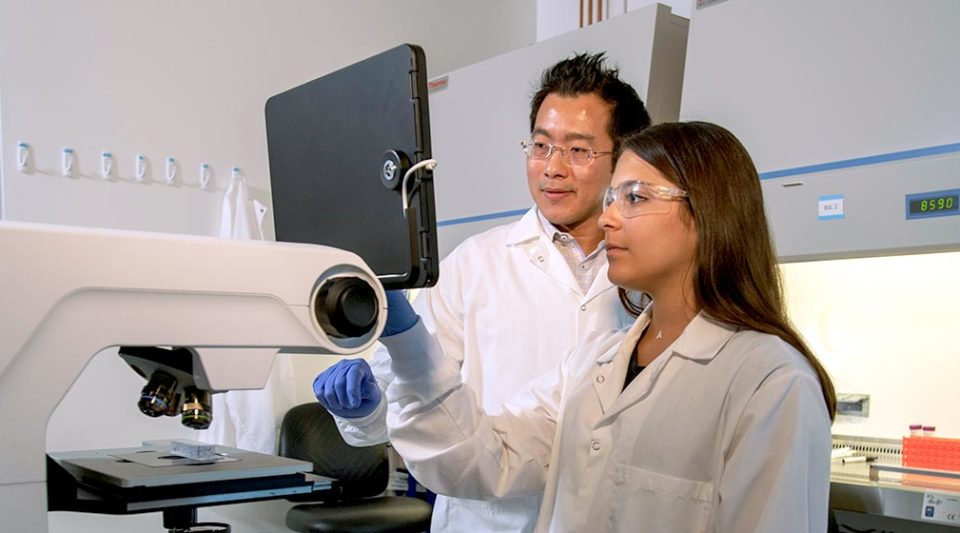 Prof. Donny Hanjaya-Putra and Visiting Research Fellow Andriana Archilla